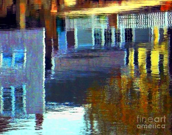 Digital Art - Rockport Reflections by Dale Ford