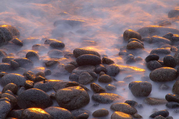 Photograph - Rocks And Surf At Sunset Garrapata by Sebastian Kennerknecht