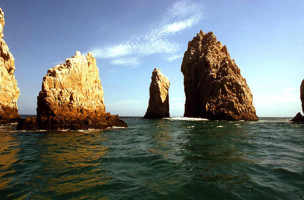 Photograph - Rocks At Cabo San Lucas by Emanuel Tanjala