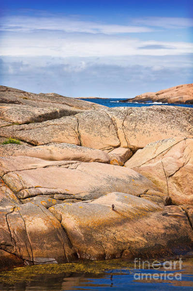 Photograph - Rocky Coast Sweden by Lutz Baar