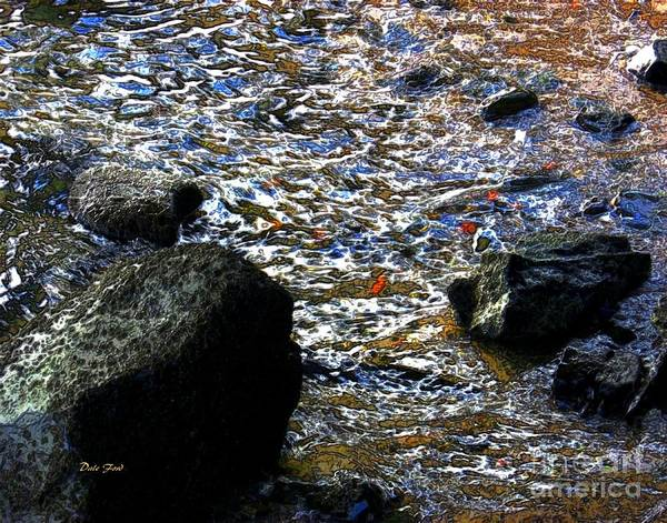 Digital Art - Rocky Shore by Dale   Ford
