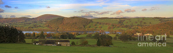 Pooley Bridge Wall Art - Photograph - Roe House Overlooks Ullswater Near Pooley Bridge In The Lake District by Louise Heusinkveld