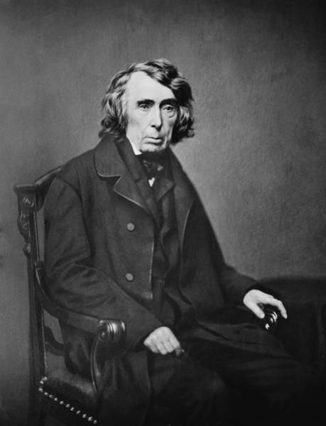 Dred Photograph - Roger B. Taney 1777-1864, Fifth Chief by Everett