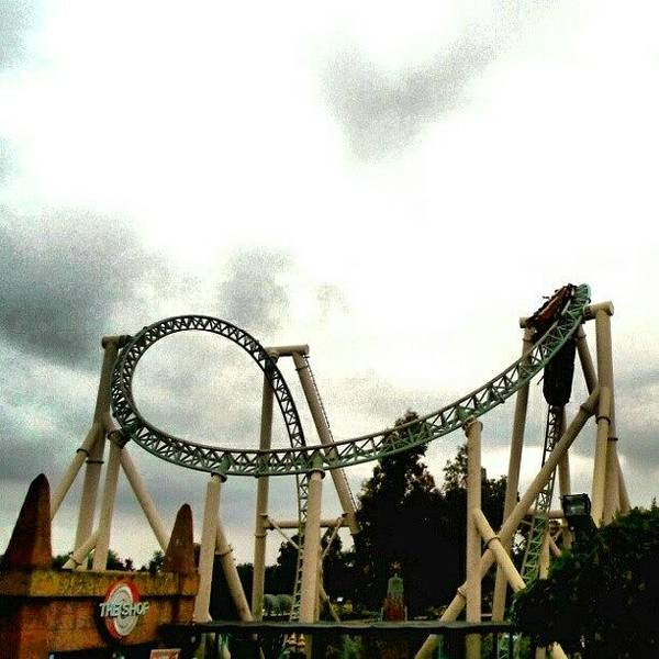 Guns Photograph - #rollercoaster #rollercoasters by Kevin Zoller