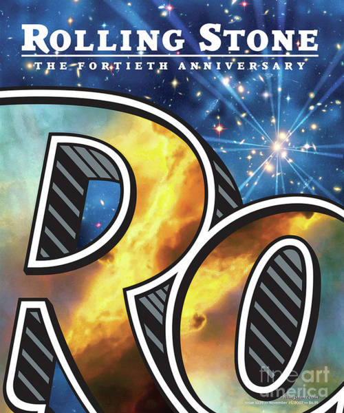 Anniversary Photograph - Rolling Stone Cover - Volume #1039 - 11/15/2007 - 40th Anniversary by Chip Kidd
