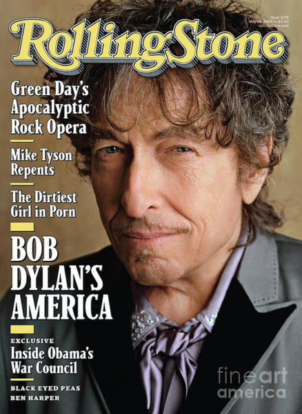 Wall Art - Photograph - Rolling Stone Cover - Volume #1078 - 5/14/2009 - Bob Dylan by Sam Jones