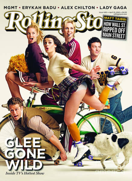 Cast Photograph - Rolling Stone Cover - Volume #1102 - 4/15/2010 - Cast Of Glee by Seliger Mark