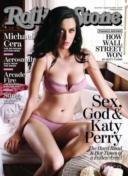 Roll Photograph - Rolling Stone Cover - Volume #1111 - 8/19/2010 - Katy Perry by Seliger Mark