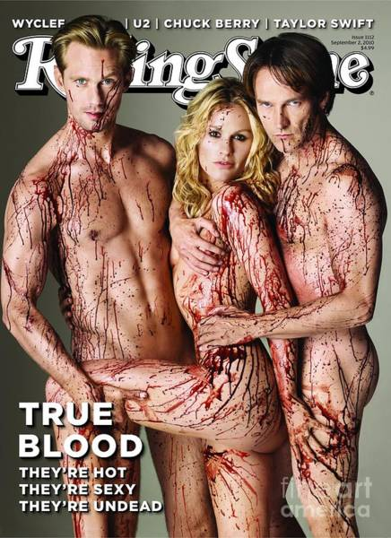 Cast Photograph - Rolling Stone Cover - Volume #1112 - 9/2/2010 - Cast Of True Blood by Rolston Matthew
