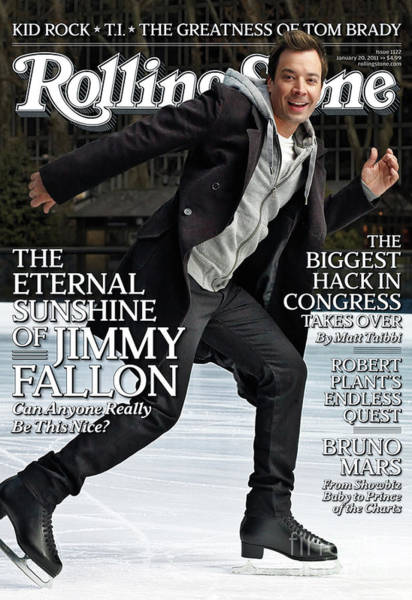 Jimmy Wall Art - Photograph - Rolling Stone Cover - Volume #1122 - 1/20/2011 - Jimmy Fallon by Robert Trachtenberg