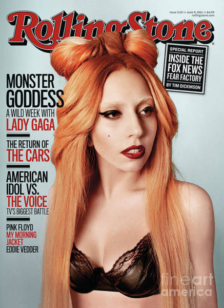 Lady Photograph - Rolling Stone Cover - Volume #1132 - 6/9/2011 - Lady Gaga by Ryan McGinley
