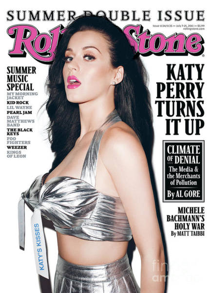 Wall Art - Photograph - Rolling Stone Cover - Volume #1135 - 7/7/2011 - Katy Perry by Terry Richardson
