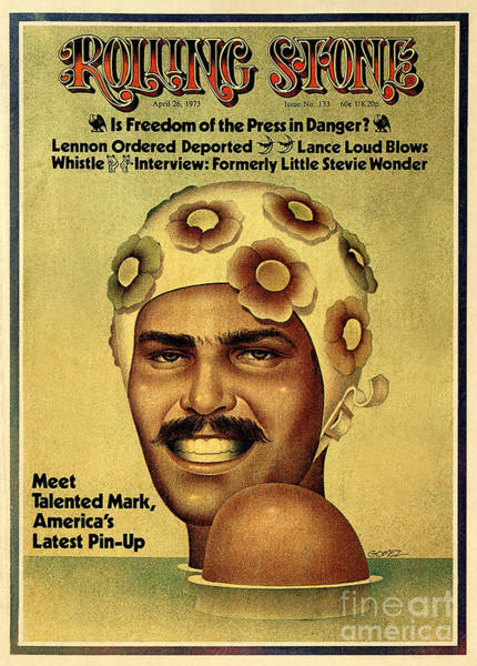 Wall Art - Photograph - Rolling Stone Cover - Volume #133 - 4/26/1973 - Mark Spitz by Ignacio Gomez