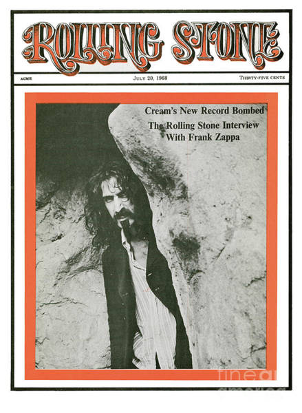 Franks Photograph - Rolling Stone Cover - Volume #14 - 7/20/1968 - Frank Zappa by Baron Wolman