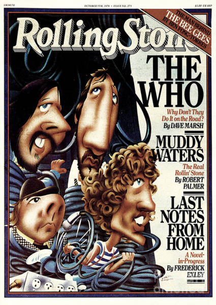Wall Art - Photograph - Rolling Stone Cover - Volume #275 - 10/5/1978 - The Who by Robert Grossman