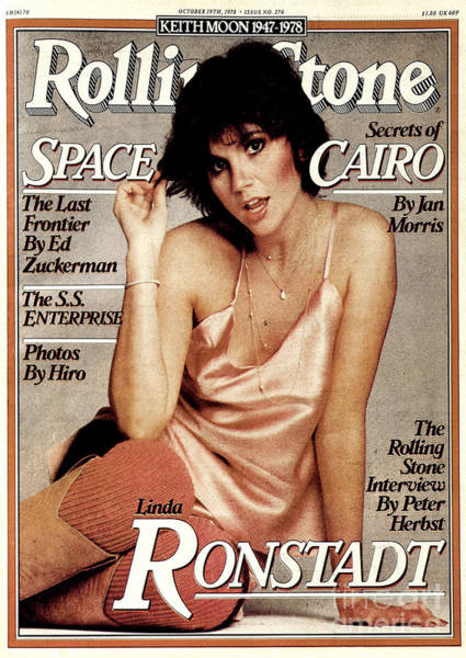 Wall Art - Photograph - Rolling Stone Cover - Volume #276 - 10/19/1978 - Linda Ronstadt by Francesco Scavullo