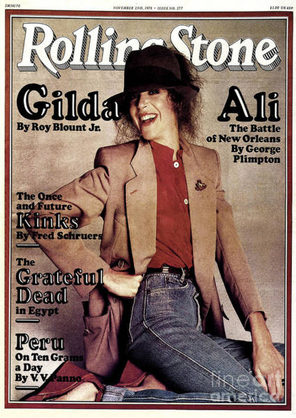 Wall Art - Photograph - Rolling Stone Cover - Volume #277 - 11/2/1978 - Gilda Radner by Francesco Scavullo