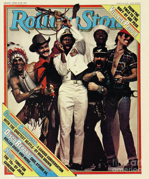 Village Photograph - Rolling Stone Cover - Volume #289 - 4/19/1979 - The Village People by Bill King
