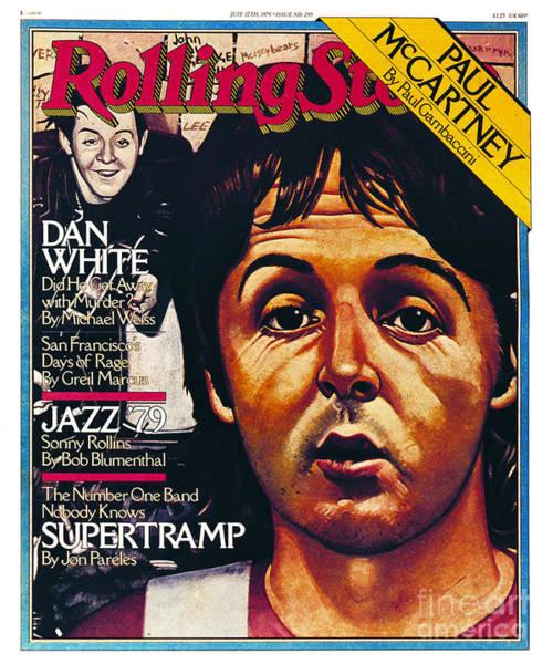 Pauls Photograph - Rolling Stone Cover - Volume #295 - 7/12/1979 - Paul Mccartney by Julian Allen
