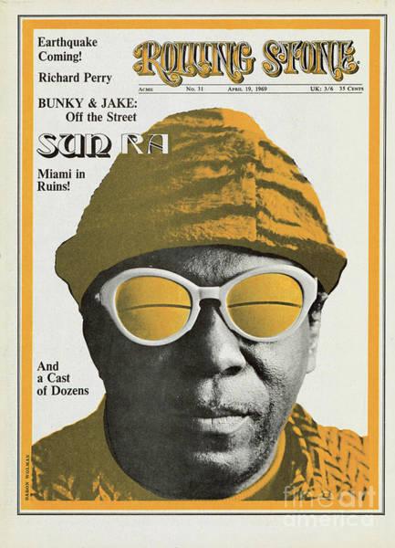 Baron Photograph - Rolling Stone Cover - Volume #31 - 4/19/1969 - Sun Ra by Baron Wolman