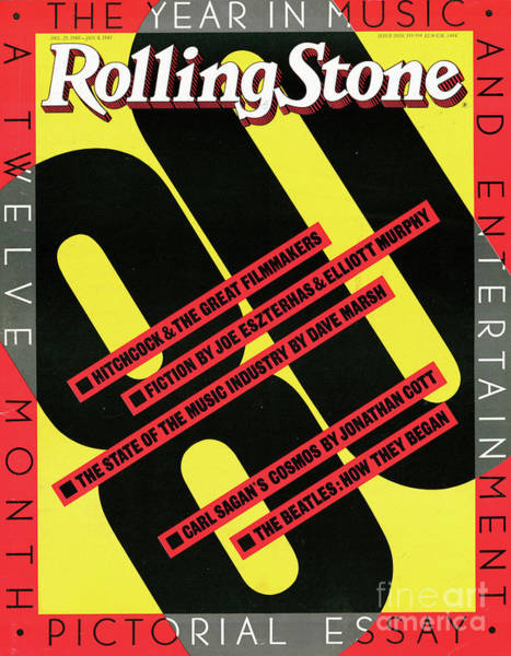 1980 Wall Art - Photograph - Rolling Stone Cover - Volume #333 - 12/25/1980 - 1980 Yearbook by