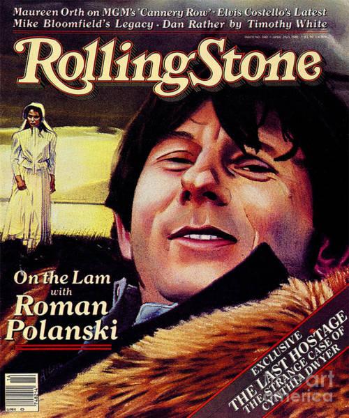 Wall Art - Photograph - Rolling Stone Cover - Volume #340 - 4/2/1981 - Roman Polanski by Julian Allen