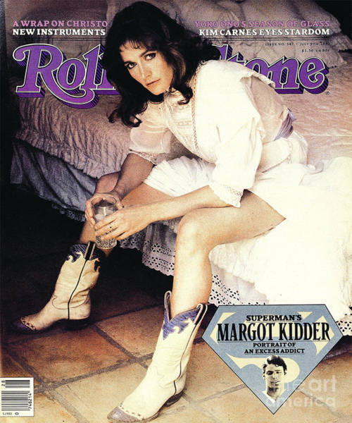 Wall Art - Photograph - Rolling Stone Cover - Volume #347 - 7/9/1981 - Margot Kidder by Denis Piel