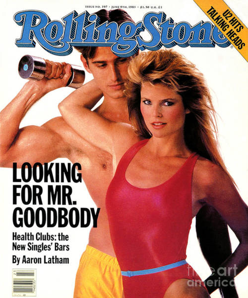 Michael Photograph - Rolling Stone Cover - Volume #397 - 6/9/1983 - Christie Brinkley And Michael Ives by E.J. Camp