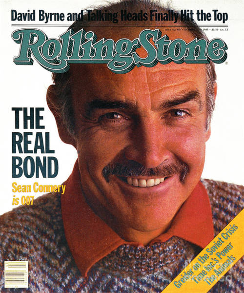 Wall Art - Photograph - Rolling Stone Cover - Volume #407 - 10/27/1983 - Sean Connery by David Montgomery