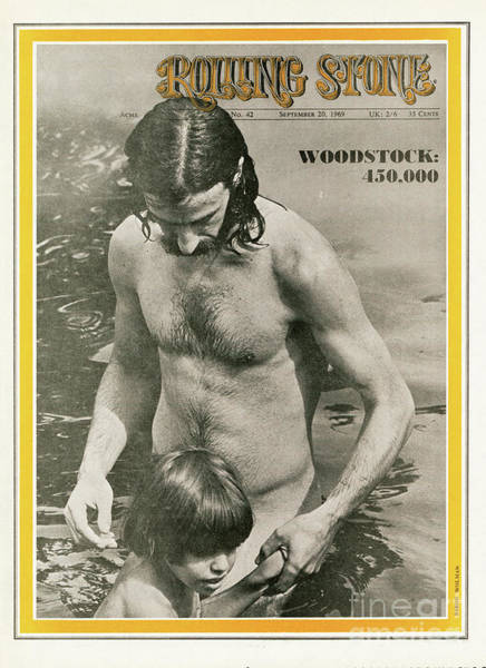 Wall Art - Photograph - Rolling Stone Cover - Volume #42 - 9/20/1969 - Woodstock by Baron Wolman