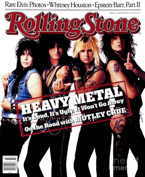 Roll Photograph - Rolling Stone Cover - Volume #506 - 8/13/1987 - Motley Crue by E.J. Camp