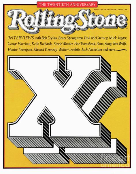 Anniversary Photograph - Rolling Stone Cover - Volume #512 - 11/5/1987 - Twentieth Anniversary by Jim Parkinson
