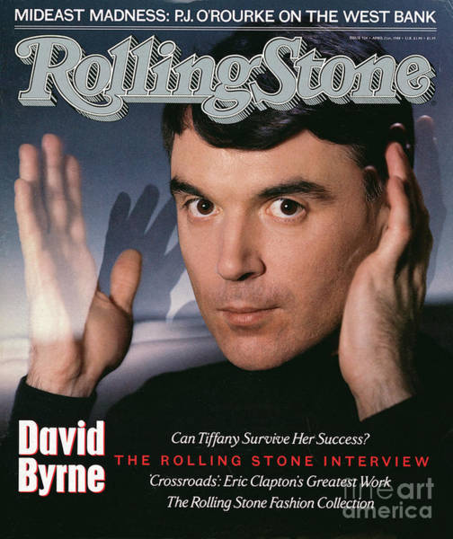 Wall Art - Photograph - Rolling Stone Cover - Volume #524 - 4/21/1988 - David Byrne by Hiro
