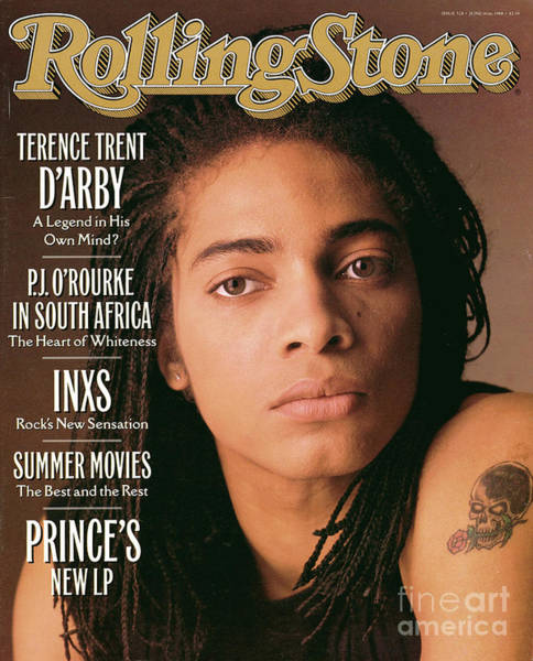 D Photograph - Rolling Stone Cover - Volume #528 - 6/16/1988 - Terence Trent D'arby by Matthew Rolston