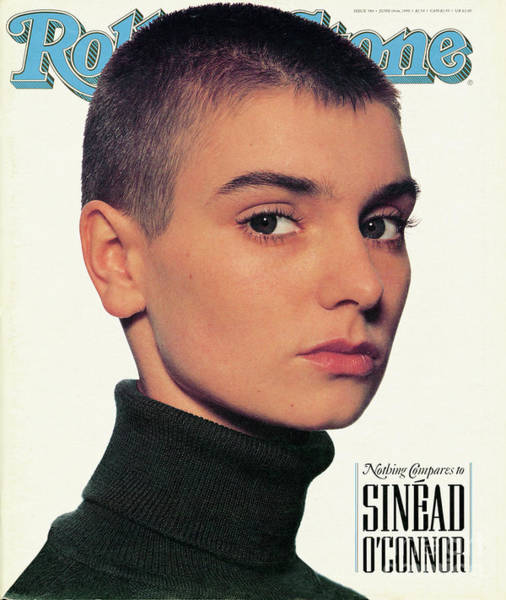 Wall Art - Photograph - Rolling Stone Cover - Volume #580 - 6/14/1990 - Sinead O'connor by Andrew MacPherson