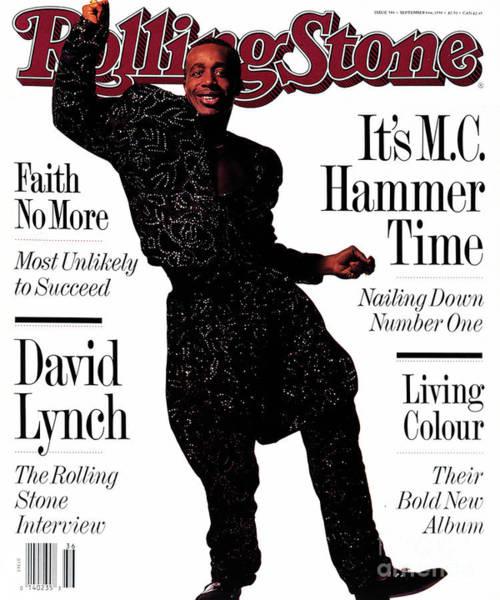 Hammer Wall Art - Photograph - Rolling Stone Cover - Volume #586 - 9/6/1990 - Mc Hammer by Frank Ockenfels