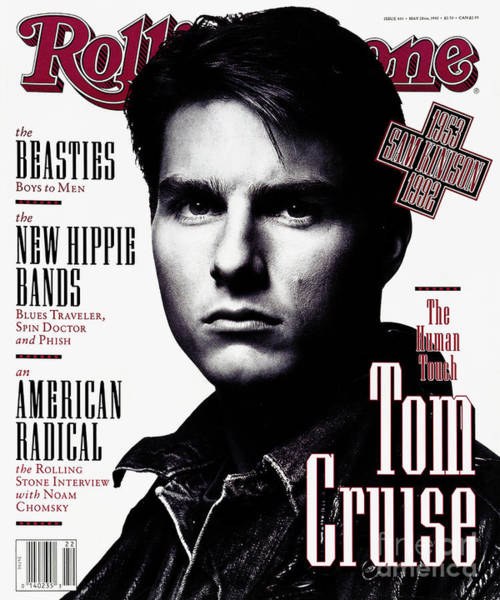 Tom Wall Art - Photograph - Rolling Stone Cover - Volume #631 - 5/28/1992 - Tom Cruise by Albert Watson