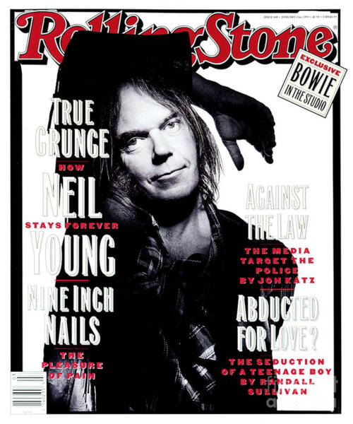 Wall Art - Photograph - Rolling Stone Cover - Volume #648 - 1/21/1993 - Neil Young  by Mark Seliger