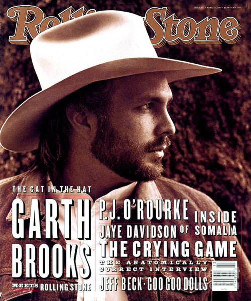 Roll Photograph - Rolling Stone Cover - Volume #653 - 4/1/1993 - Garth Brooks by Kurt Markus