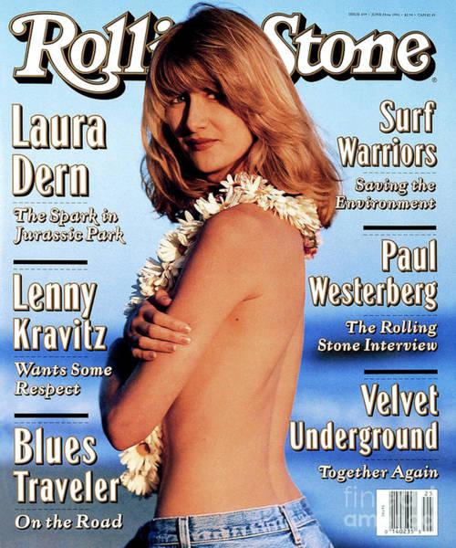Laura Wall Art - Photograph - Rolling Stone Cover - Volume #659 - 6/24/1993 - Laura Dern by Kurt Markus