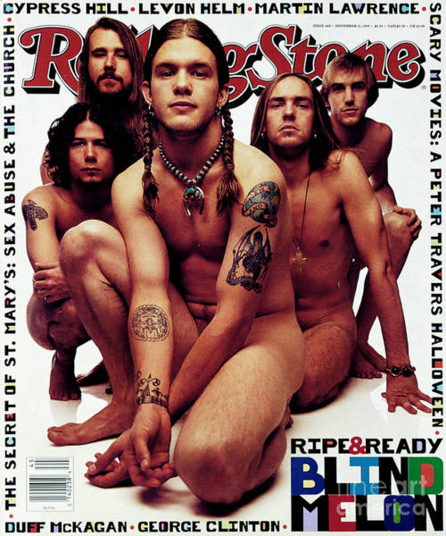 Wall Art - Photograph - Rolling Stone Cover - Volume #669 - 11/11/1993 - Blind Melon by Mark Seliger