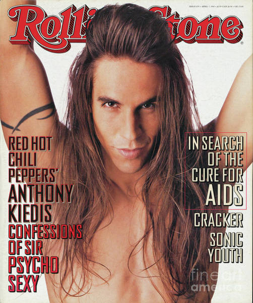 Roll Photograph - Rolling Stone Cover - Volume #679 - 4/7/1994 - Anthony Kiedis by Matthew Rolston