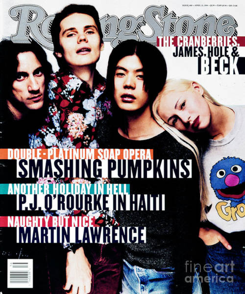 Pumpkins Wall Art - Photograph - Rolling Stone Cover - Volume #680 - 4/21/1994 - Smashing Pumpkins by Glen Luchford