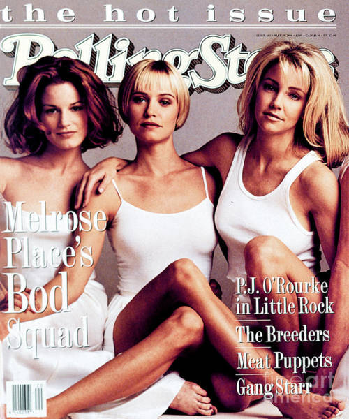 Cast Photograph - Rolling Stone Cover - Volume #682 - 5/19/1994 - Cast Of Melrose Place by Mark Seliger
