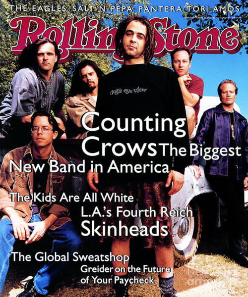 Wall Art - Photograph - Rolling Stone Cover - Volume #685 - 6/30/1994 - Counting Crows by Mark Seliger