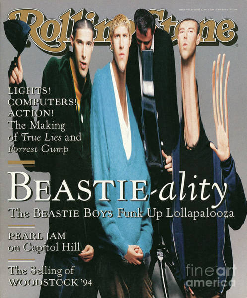 Boy Photograph - Rolling Stone Cover - Volume #688 - 8/11/1994 - The Beastie Boys by Matthew Rolston