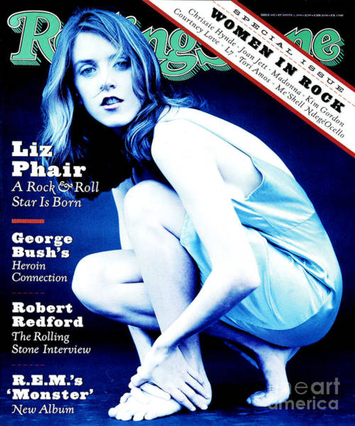Wall Art - Photograph - Rolling Stone Cover - Volume #692 - 10/6/1994 - Liz Phair by Frank Ockenfels