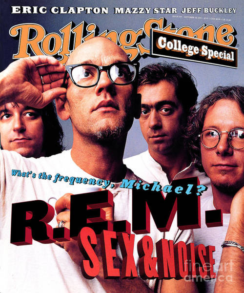 Wall Art - Photograph - Rolling Stone Cover - Volume #693 - 10/20/1994 - Rem by Mark Seliger