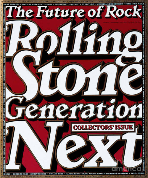 Wall Art - Photograph - Rolling Stone Cover - Volume #695 - 11/16/1994 - Generation Next by Eric Siry