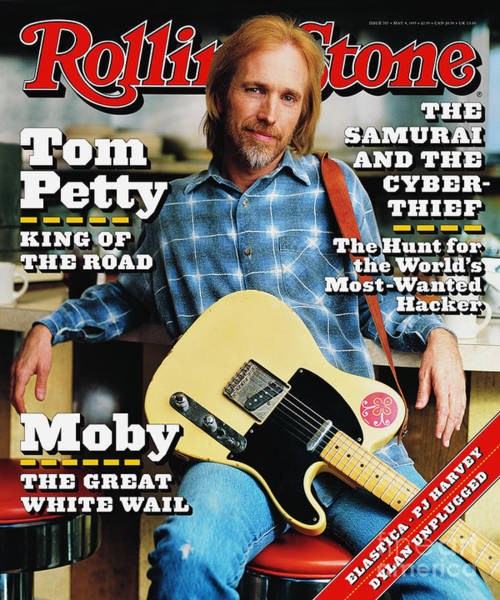 Wall Art - Photograph - Rolling Stone Cover - Volume #707 - 5/4/1995 - Tom Petty by Mark Seliger